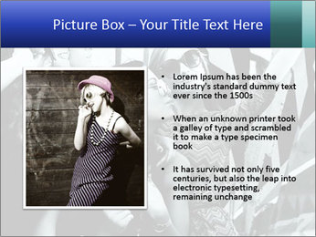Fashionable girls PowerPoint Template - Slide 13