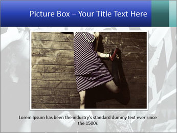 Fashionable girls PowerPoint Template - Slide 15