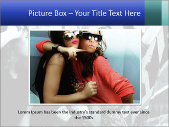 Fashionable girls PowerPoint Template - Slide 16