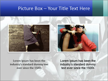 Fashionable girls PowerPoint Template - Slide 18