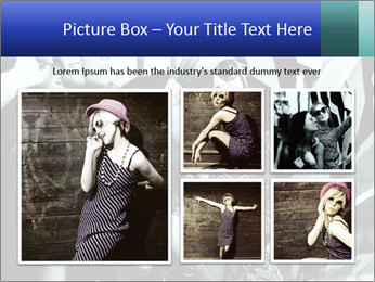 Fashionable girls PowerPoint Template - Slide 19