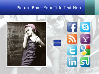 Fashionable girls PowerPoint Template - Slide 21