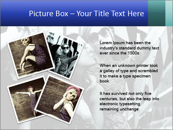 Fashionable girls PowerPoint Template - Slide 23