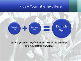 Fashionable girls PowerPoint Template - Slide 75