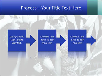 Fashionable girls PowerPoint Template - Slide 88
