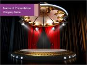Empty stage PowerPoint Templates