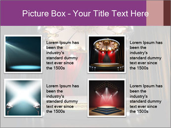 Empty stage PowerPoint Template - Slide 14