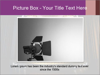 Empty stage PowerPoint Template - Slide 16
