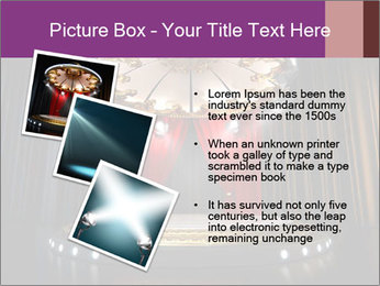 Empty stage PowerPoint Template - Slide 17