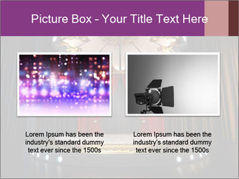 Empty stage PowerPoint Template - Slide 18
