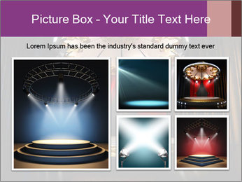 Empty stage PowerPoint Template - Slide 19