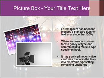 Empty stage PowerPoint Template - Slide 20