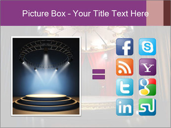 Empty stage PowerPoint Template - Slide 21