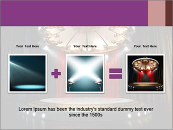 Empty stage PowerPoint Template - Slide 22