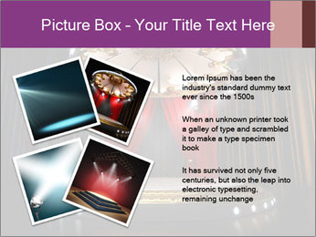 Empty stage PowerPoint Template - Slide 23