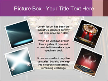 Empty stage PowerPoint Template - Slide 24
