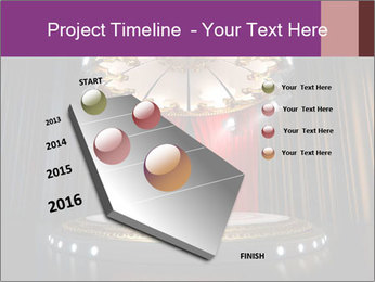 Empty stage PowerPoint Template - Slide 26