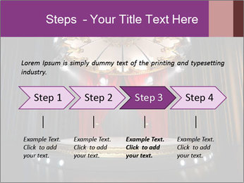 Empty stage PowerPoint Template - Slide 4