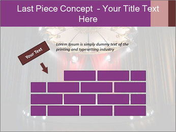 Empty stage PowerPoint Template - Slide 46
