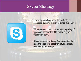Empty stage PowerPoint Template - Slide 8
