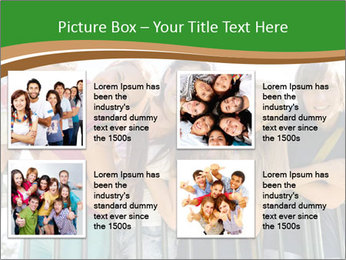 Happy students relaxing PowerPoint Templates - Slide 14