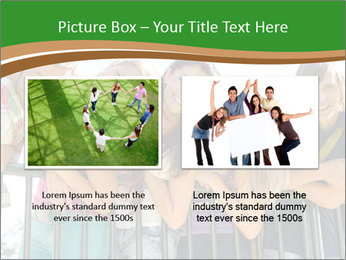 Happy students relaxing PowerPoint Templates - Slide 18