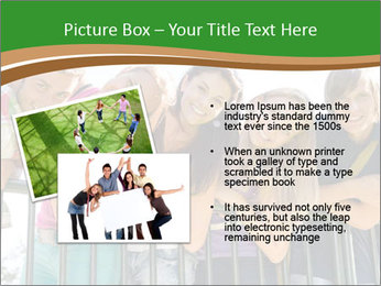 Happy students relaxing PowerPoint Templates - Slide 20