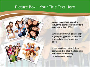Happy students relaxing PowerPoint Templates - Slide 23
