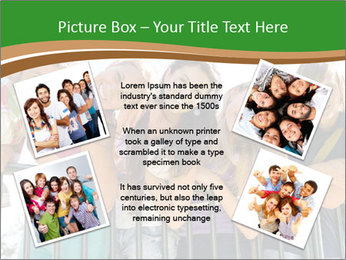 Happy students relaxing PowerPoint Templates - Slide 24