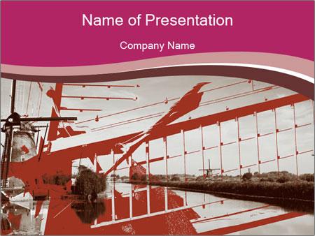 Kinderdijk PowerPoint Template