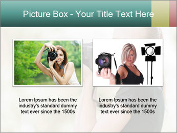 Beautiful smiling woman PowerPoint Template - Slide 18