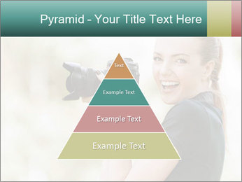 Beautiful smiling woman PowerPoint Template - Slide 30