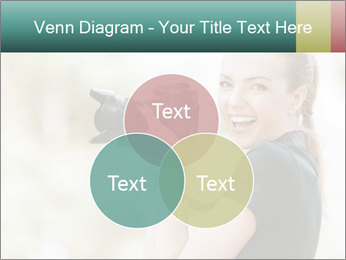 Beautiful smiling woman PowerPoint Template - Slide 33