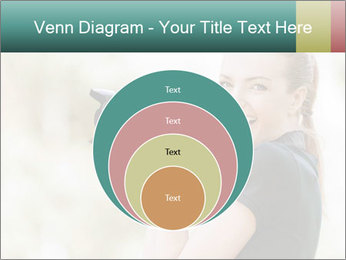 Beautiful smiling woman PowerPoint Template - Slide 34
