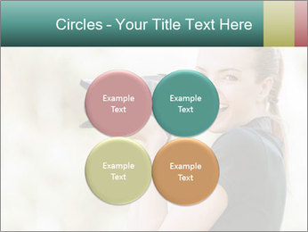 Beautiful smiling woman PowerPoint Template - Slide 38