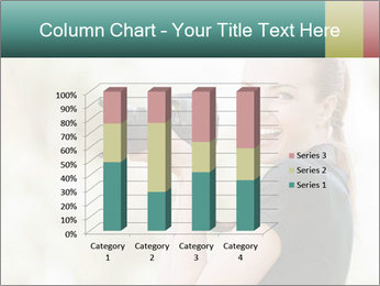 Beautiful smiling woman PowerPoint Template - Slide 50