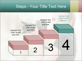 Beautiful smiling woman PowerPoint Template - Slide 64