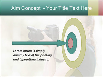 Beautiful smiling woman PowerPoint Template - Slide 83