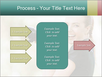 Beautiful smiling woman PowerPoint Template - Slide 85