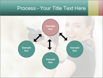 Beautiful smiling woman PowerPoint Template - Slide 91
