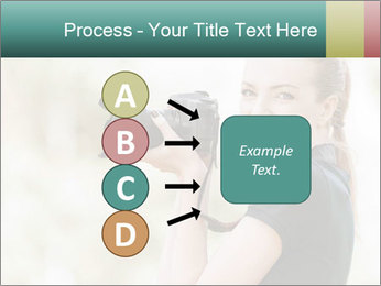 Beautiful smiling woman PowerPoint Template - Slide 94