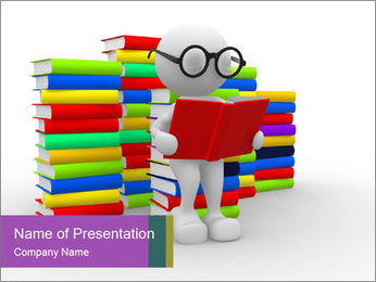 Education concept PowerPoint Template - Slide 1