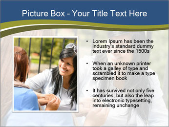 Mother and daughter PowerPoint Template - Slide 13