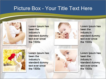 Mother and daughter PowerPoint Template - Slide 14