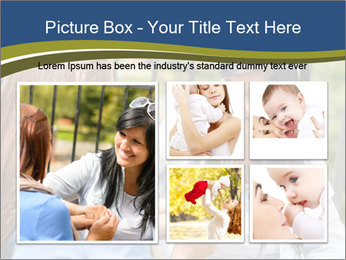 Mother and daughter PowerPoint Template - Slide 19