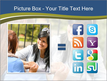 Mother and daughter PowerPoint Template - Slide 21