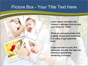 Mother and daughter PowerPoint Template - Slide 23