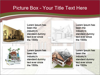 Classic house design PowerPoint Template - Slide 14