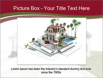 Classic house design PowerPoint Template - Slide 15