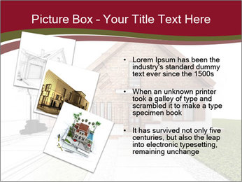 Classic house design PowerPoint Template - Slide 17